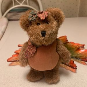Boyds Bears Rusty Mcpunkin Plush Bear